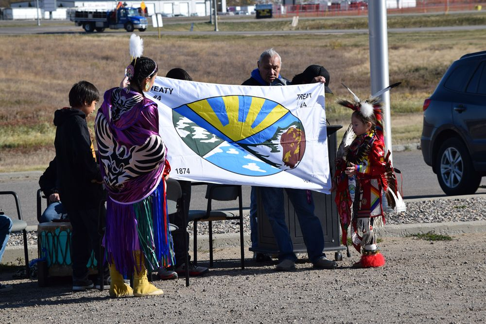 Treaty 4 Flag Raising